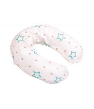 Zewi bébé-jou Bezug zu Lagerungskissen white Stars & Points