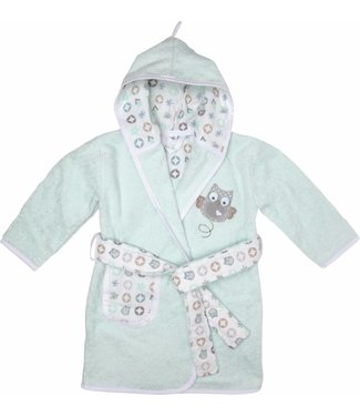 Zewi bébé-jou Bademantel Owl Family