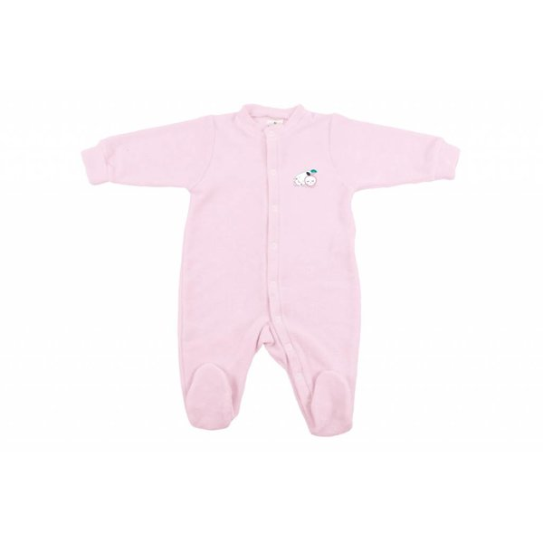 Baby Kombi Frottée-Strech Blush Baby