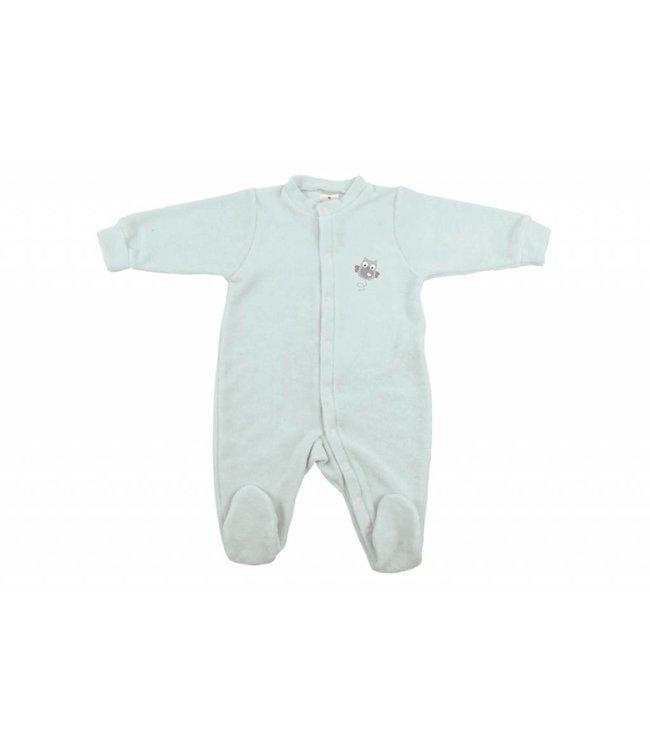 Zewi bébé-jou Baby Kombi Frottée-Strech Owl Family