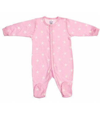 Zewi bébé-jou Baby Kombi Interlock Stars rose stars