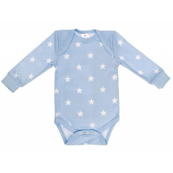 Body langarm bedruckt ciel Stars