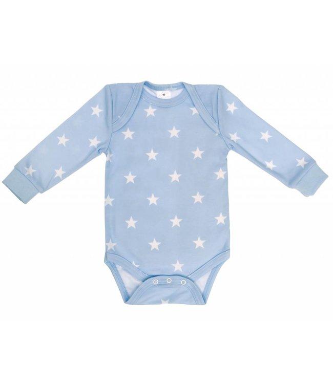 Zewi bébé-jou Body langarm bedruckt ciel Stars