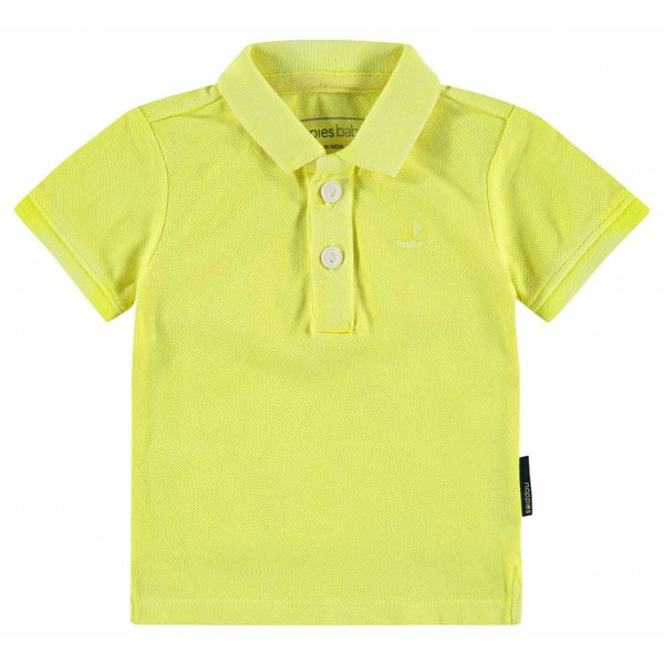 Baby Poloshirt Miami fluor green