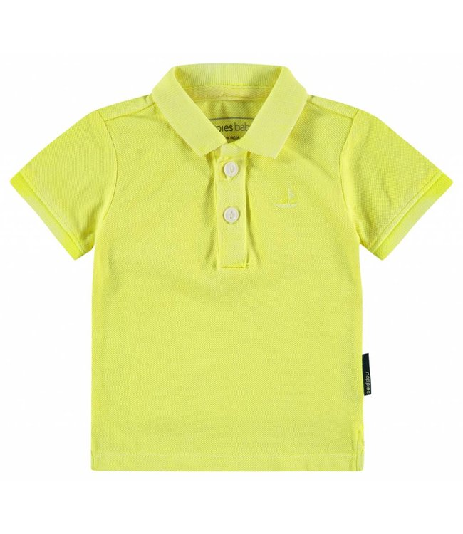 Noppies Baby Poloshirt Miami fluor green