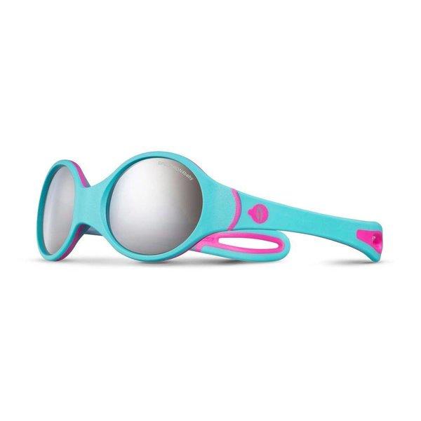 Kindersonnenbrille Loop türkis/rosa
