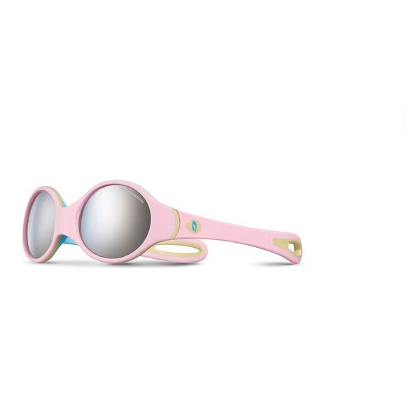 Kindersonnenbrille Loop rose/bleu
