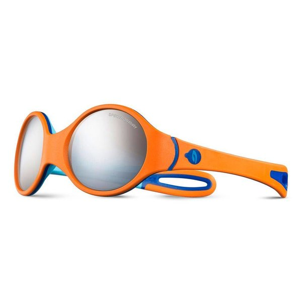 Kindersonnenbrille Loop orange/bleu