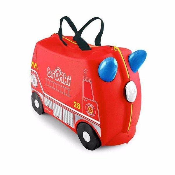Kinderkoffer Frank das Feuerwehrauto