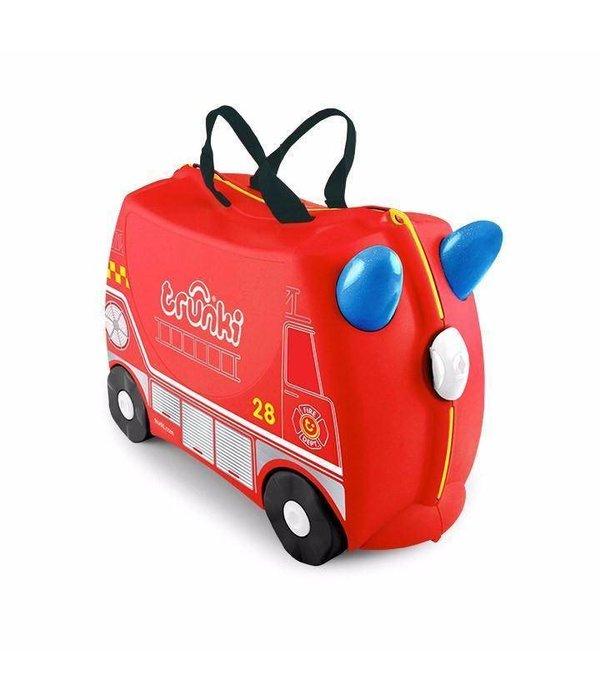 Trunki Kinderkoffer Frank das Feuerwehrauto