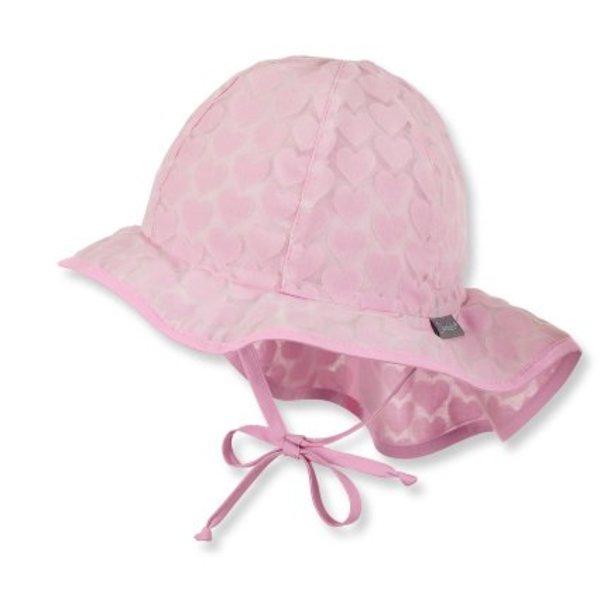 Mädchen Flapper Sonnenhut rosa