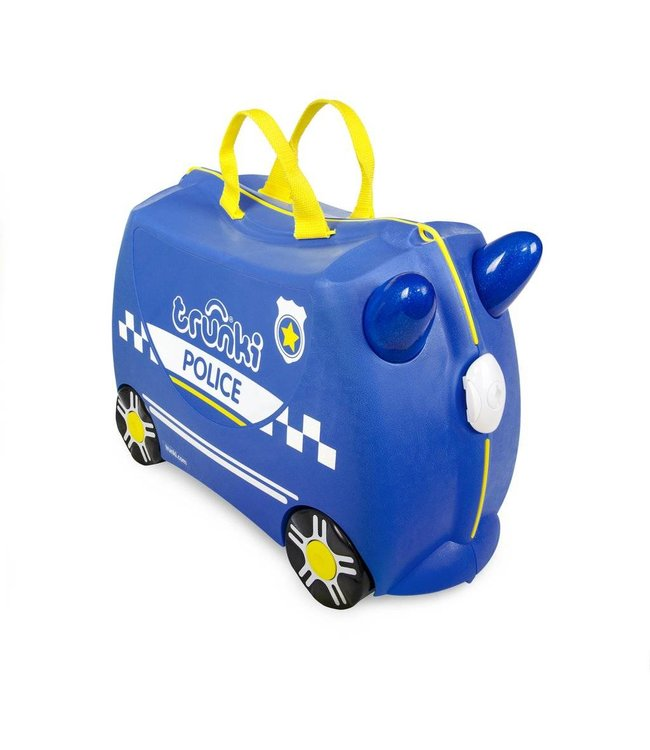 Trunki Kinderkoffer Percy das Polizeiauto