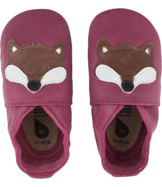 Bobux Lederfinkli Fuchs pink