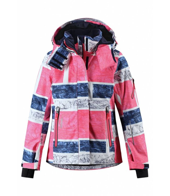 Reima tec® Kinder Winterjacke Frost strawberry red