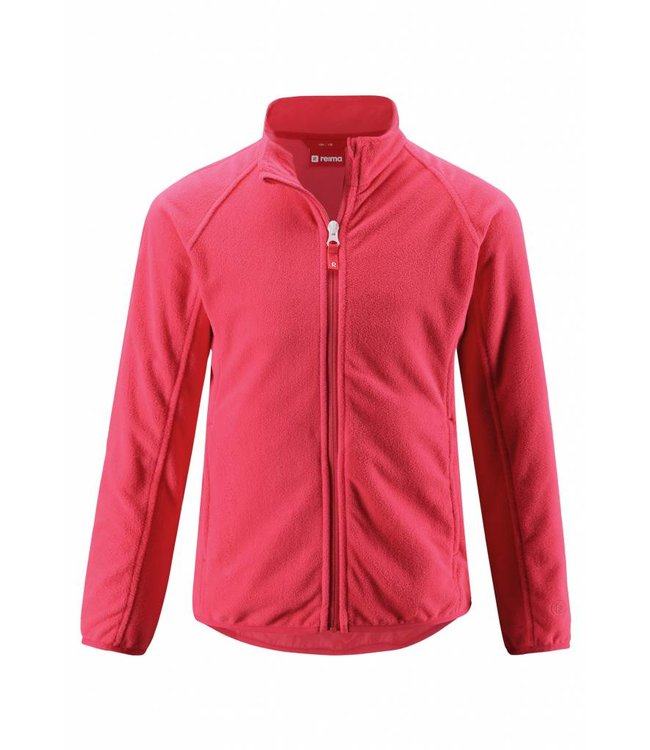 Reima Kinder Fleecejacke Alagna strawberry red