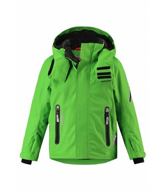 Reima tec Kinder Winterjacke Regor fresh green