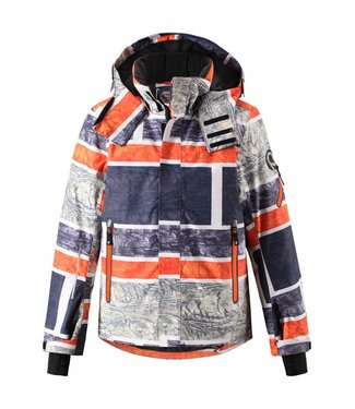 Reima -tec Kinder Winterjacke Wheeler fresh wood