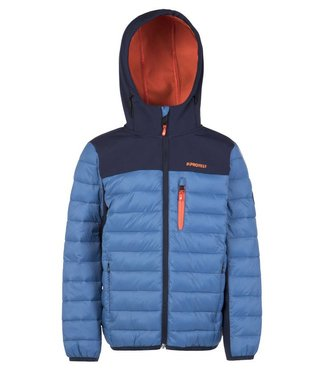 Protest Jungen Steppjacke Gonzo blue gas