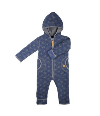 Pure Pure Baby Overall blue schiefer
