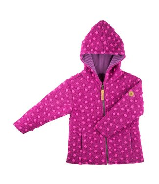 Pure Pure Mädchen Jacke berry/pink