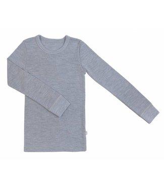Woolami Attelas Langarmshirt platinum grey