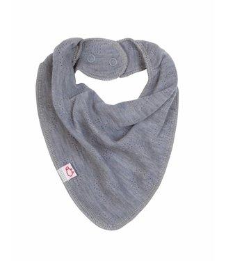 Woolami Esserts Baby Schal platinium grey