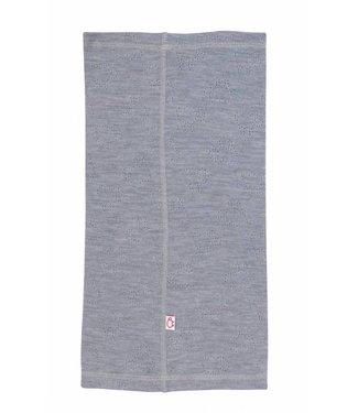 Woolami Gentianes Halswärmer platinium grey