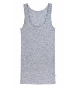 Woolami Damen Unterhemd platinium grey