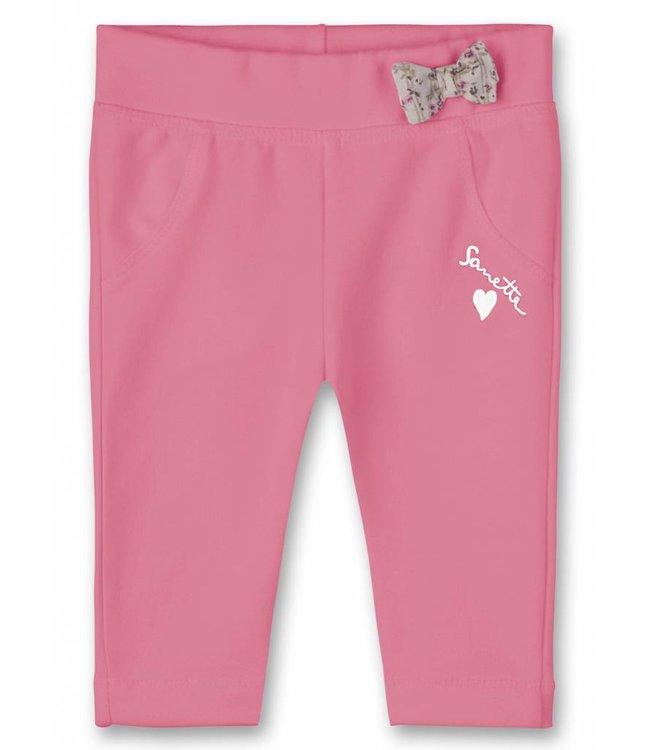 Sanetta Fiftyseven Baby Mädchen-Hose pink