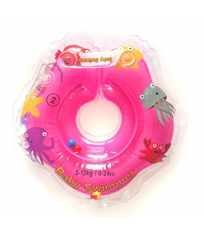 Baby Swimmer Badering pink 3 - 12 kg