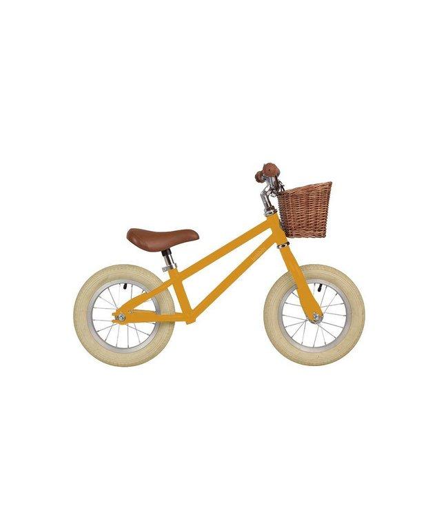 Bobbin Moonbug Laufrad gelb