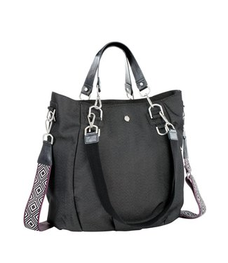 Lässig Wickeltasche Mix'n Match denim black