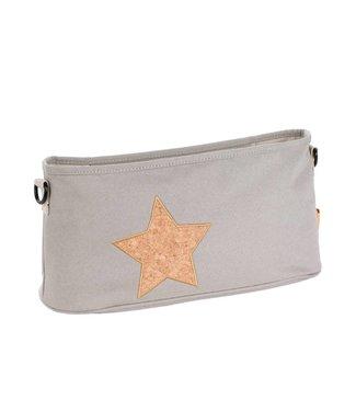 Lässig Kinderwagentasche Star light grey