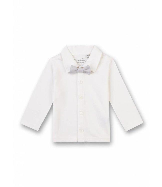 Sanetta Fiftyseven Baby Jungen Tauf-Hemd weiss