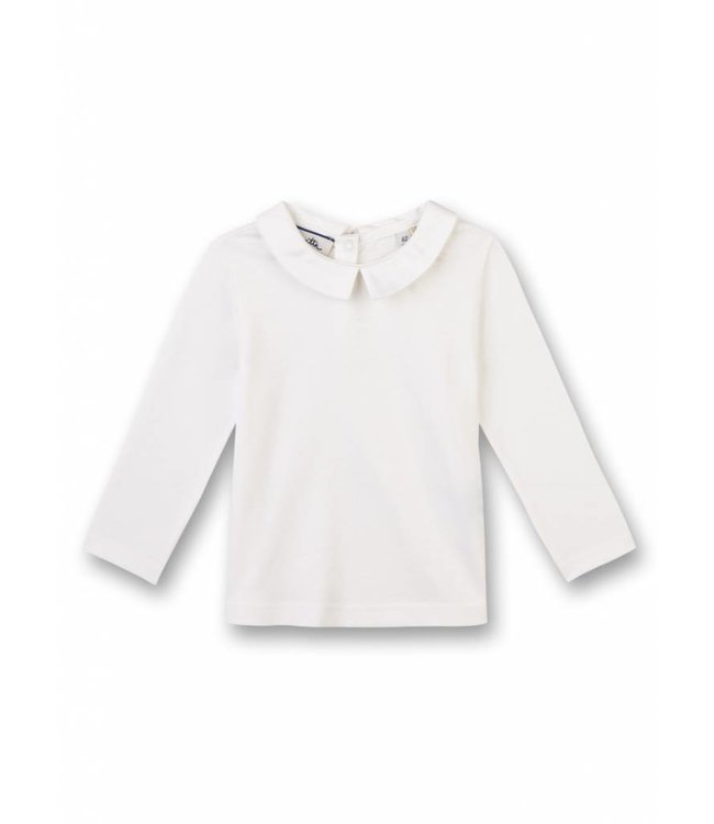 Sanetta Fiftyseven Baby Jungen Tauf-Shirt weiss