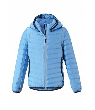 Reima leichte Daunenjacke Float 2in1 light blue
