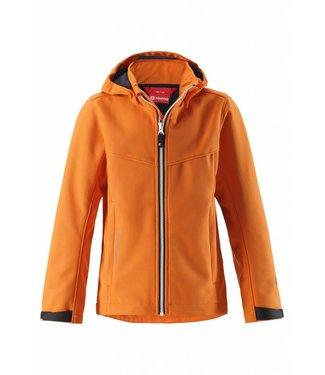 Reima Kinder Softshell Jacke Grus Orange