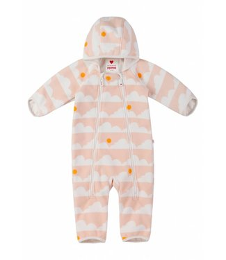 Reima Baby Windfleece Overall Tihi soft peach
