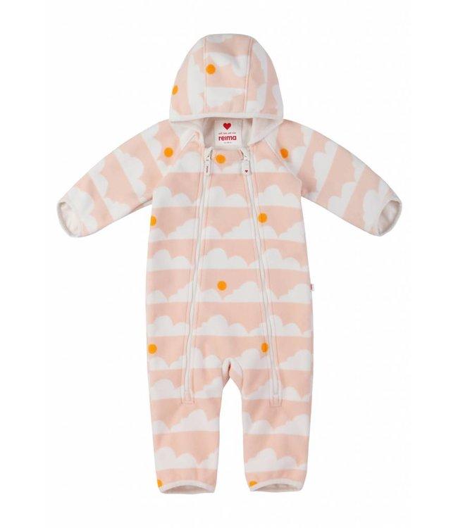Reima Baby Windfleece Overall Tihi soft peach