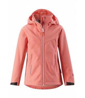 Reima Mädchen Softshell Jacke Syd coral pink