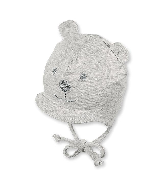 Sterntaler Baby Übergangsmütze silber