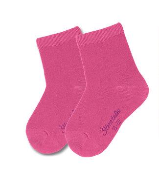 Sterntaler Kinder Socken Doppelpack uni magenta