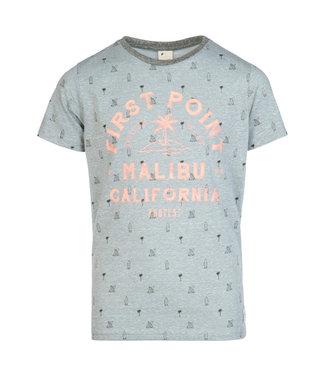 Protest Jungen T-shirt Janis aqua grey