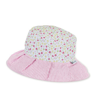 Sterntaler Mädchen Reif-Hut weiss