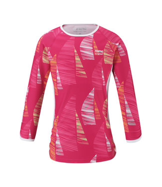 Reima Kinder Sonnenschutz T-shirt Costa candy pink