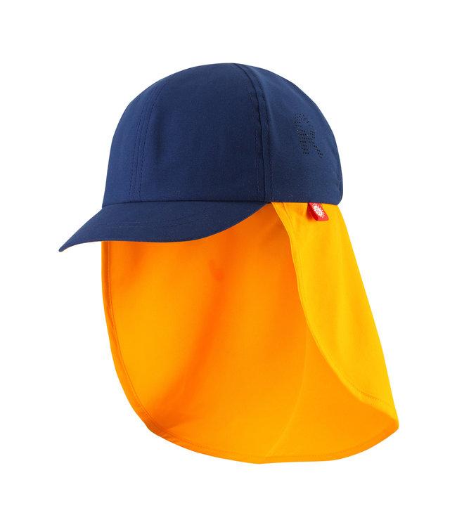 Reima Kinder Sonnenschutz Hut Tropisk navy blue