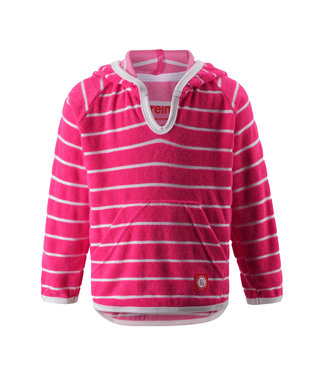Reima Kleinkinder Frottee Sweatshirt Dyyni candy pink