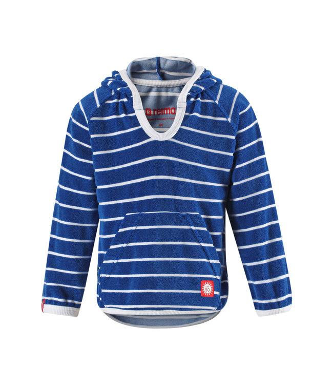 Reima Kleinkinder Frottee Sweatshirt Dyyni blue