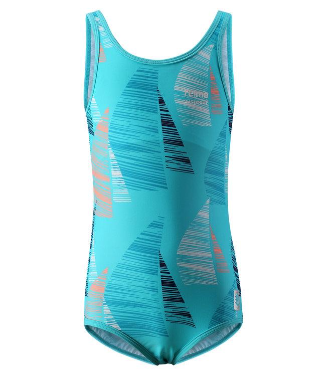 Reima Mädchen Badeanzug Sumatra bright turquoise