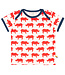Loud and Proud T-Shirt Druck Nashorn cayenne